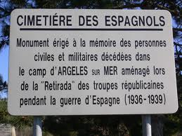 Panneau camp Argeles