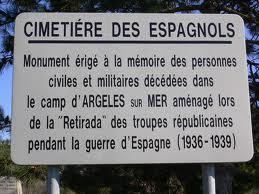 Panneau camp Argeles